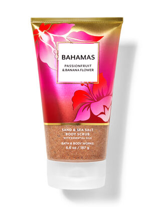 Bahamas Passionfruit & Banana Flower Sand & Sea Salt Body Scrub