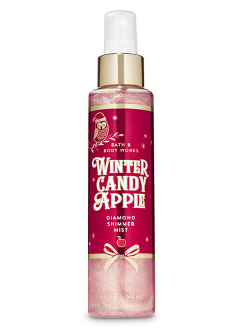 Winter Candy Apple Diamond Shimmer Mist - Bath And Body Works