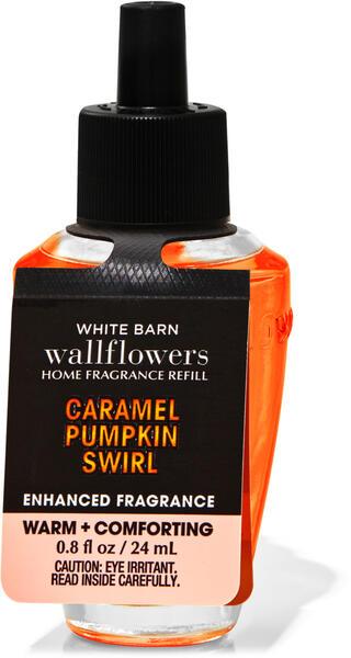 Caramel Pumpkin Swirl Enhanced Wallflowers Fragrance Refill
