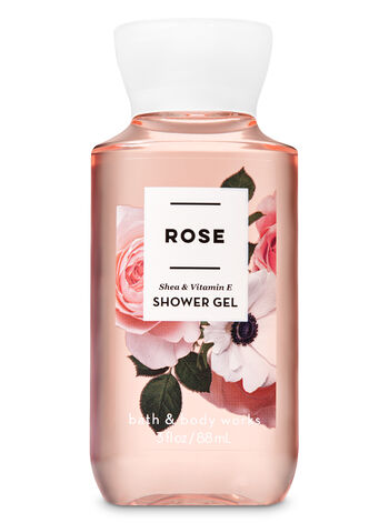 Rose Travel Size Shower Gel - Bath And Body Works