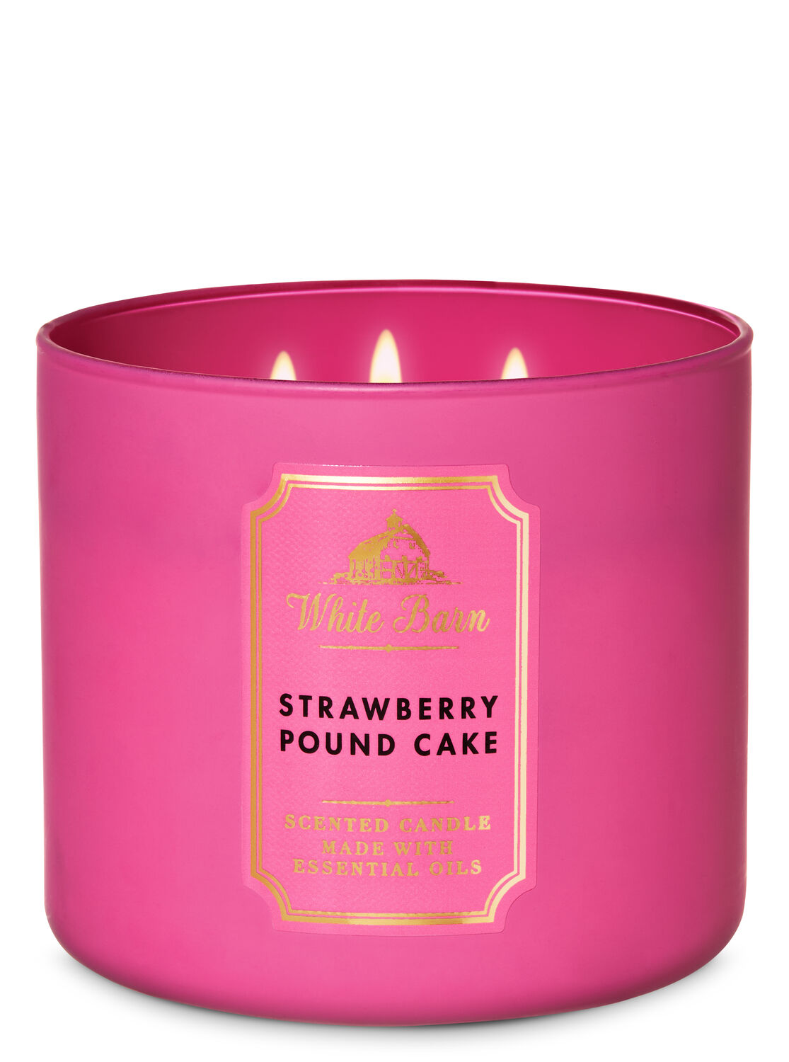 POUND CAKE SCENT HOME-MADE FRAGRANCE CANDLES