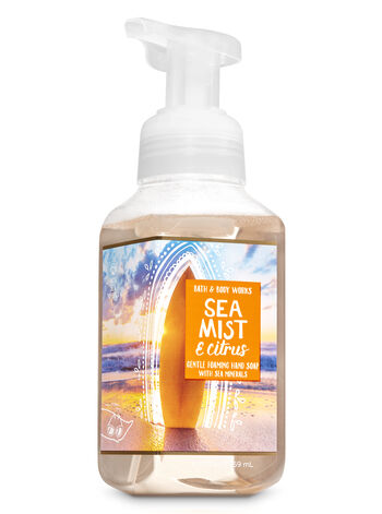 Sea Mist & Citrus Gentle Foaming Hand Soap - Bath And Body Works