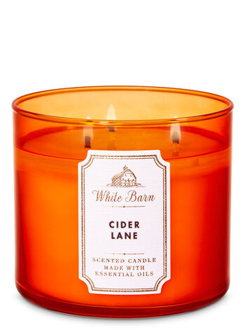 White Barn Cider Lane 3-Wick Candle - Bath And Body Works