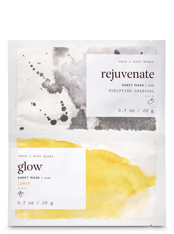 Rejuvenate & Glow Face Sheet Mask, 2-Pack