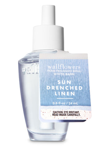 Sun Drenched Linen Wallflowers Fragrance Refill - Bath And Body Works