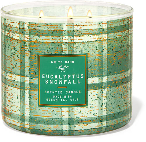 Eucalyptus Snowfall 3-Wick Candle