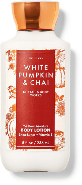 White Pumpkin & Chai Super Smooth Body Lotion