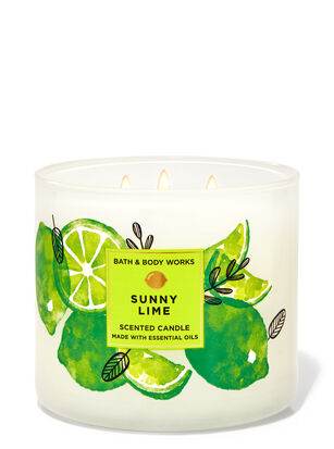 Sunny Lime 3-Wick Candle
