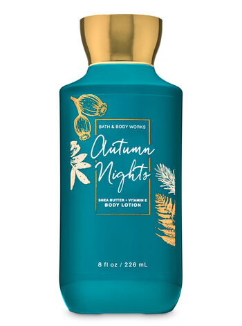 Autumn Nights Super Smooth Body Lotion - Bath And Body Works
