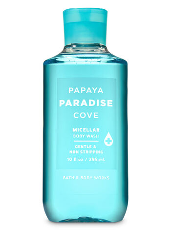 Signature Collection Papaya Paradise Cove Micellar Body Wash - Bath And Body Works