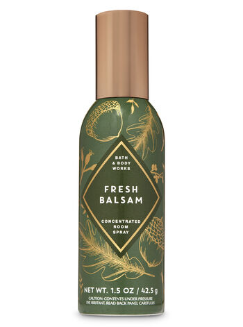 Fresh Balsam Concentrated Room Spray - Bath And Body Works