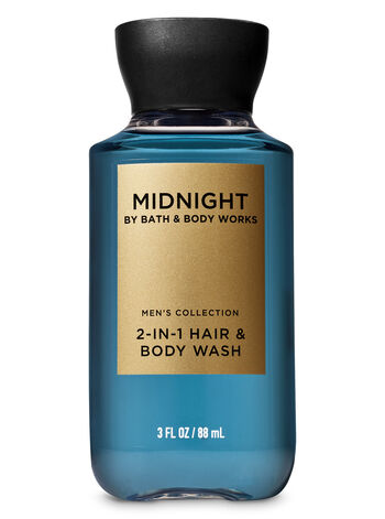 Midnight Travel Size 2-in-1 Hair + Body Wash - Bath And Body Works