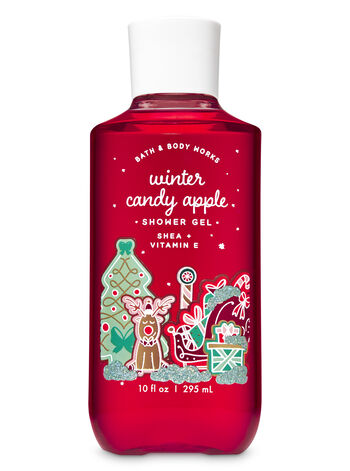 Winter Candy Apple Shower Gel - Bath And Body Works