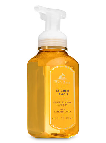 White Barn Kitchen Lemon Gentle Foaming Hand Soap - Bath And Body Works