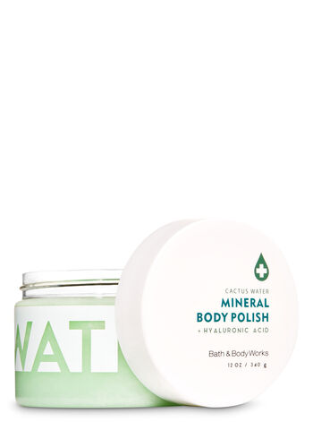 Cactus Water Hyaluronic Acid Mineral Body Polish - Bath And Body Works