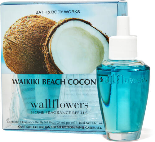 Waikiki Beach Coconut Wallflowers Refills 2-Pack