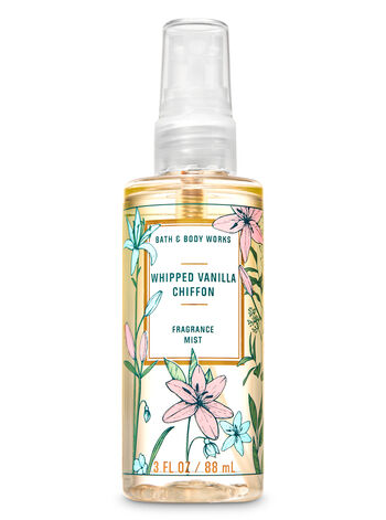Whipped Vanilla Chiffon Travel Size Fine Fragrance Mist - Bath And Body Works