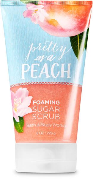 Pretty as a Peach Foaming Sugar Scrub