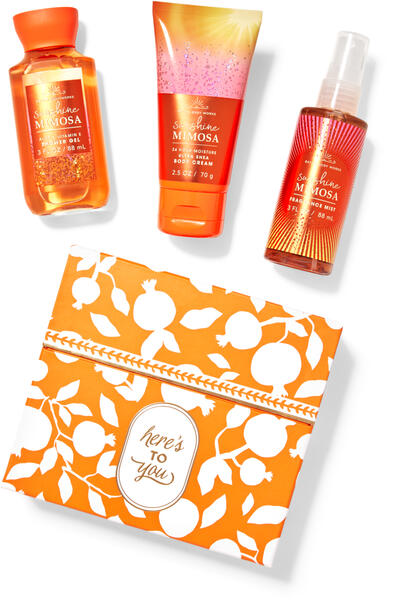 Sunshine Mimosa Mini Gift Box Set