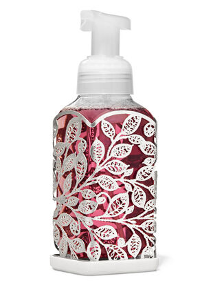 Silver Leaves Gentle Foaming Soap Holder