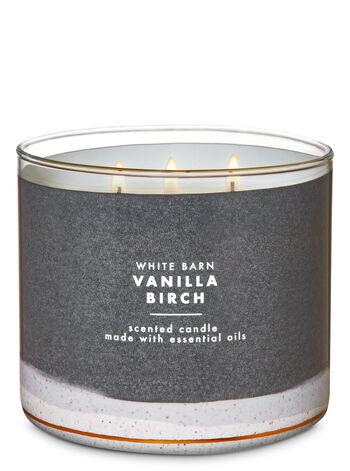 White Barn Vanilla Birch 3-Wick Candle - Bath And Body Works