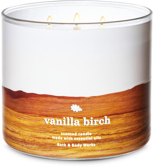Vanilla Birch 3-Wick Candle