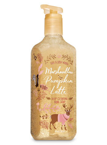 Marshmallow Pumpkin Latte Deep Cleansing Hand Soap - Bath And Body Works