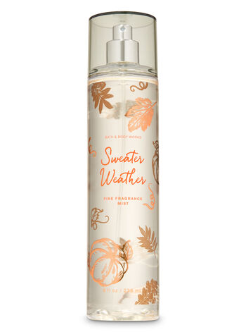 Sweater Weather Fine Fragrance Mist - Bath And Body Works