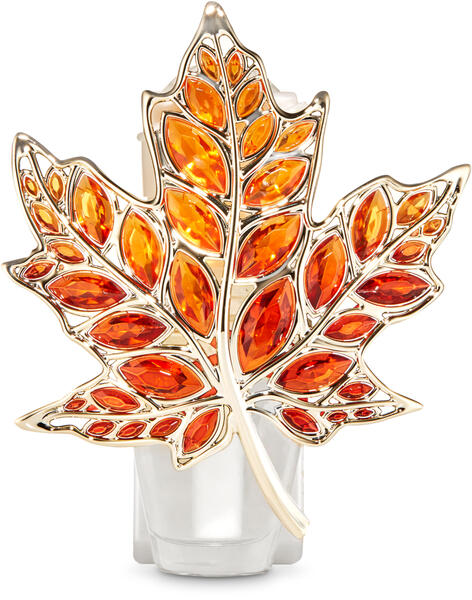Gem Leaf Nightlight Wallflowers Fragrance Plug