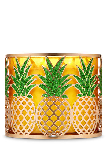 Pineapple 3-Wick Candle Holder - Bath And Body Works