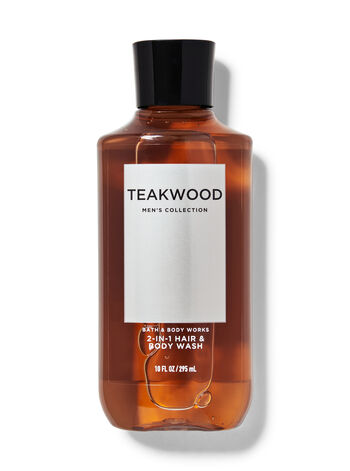 Teakwood 2-in-1 Hair + Body Wash