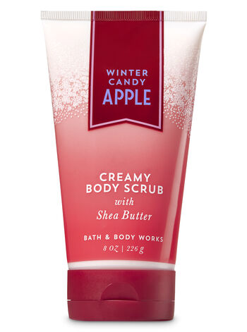 Signature Collection Winter Candy Apple Creamy Body Scrub - Bath And Body Works