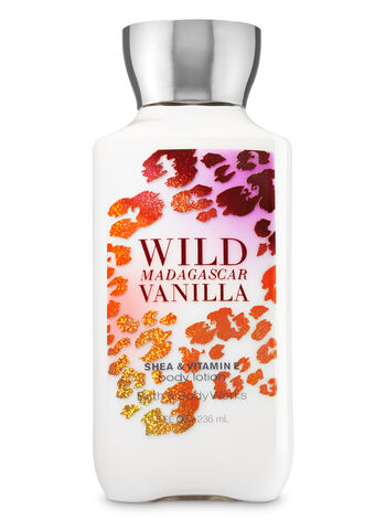 Signature Collection Wild Madagascar Vanilla Body Lotion - Bath And Body Works