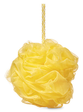 Yellow Loofah - Bath And Body Works