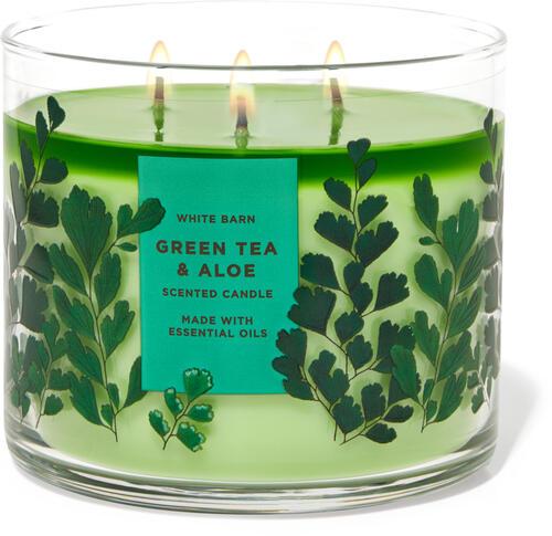 Green Tea & Aloe 3-Wick Candle
