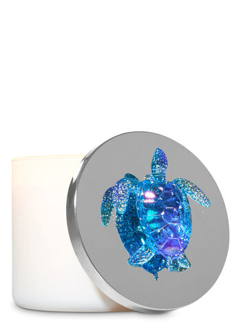Iridescent Sea Turtle 3-Wick Candle Magnet - Bath And Body Works