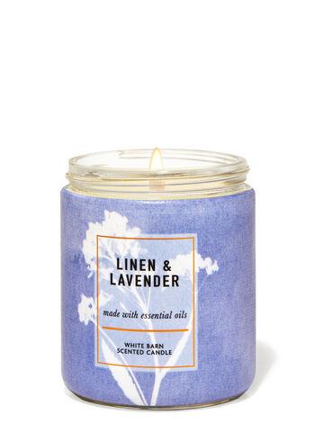 Linen & Lavender Single Wick Candle