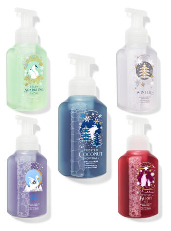 Frosted Favorites Gentle Foaming Hand Soap, 5-Pack