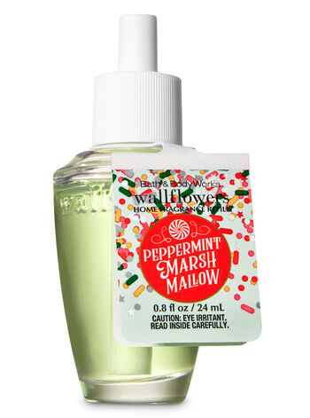 Peppermint Marshmallow Wallflowers Fragrance Refill - Bath And Body Works
