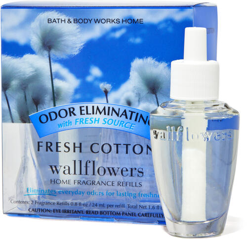Fresh Cotton Wallflowers Refills 2-Pack