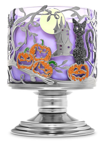 Halloween Night 3-Wick Candle Holder