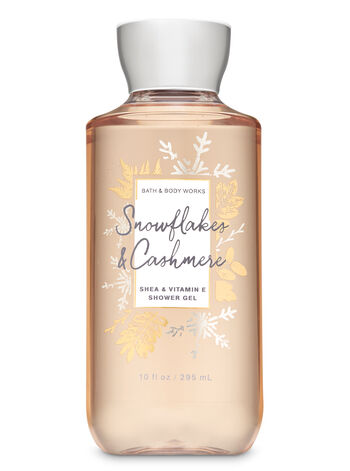Snowflakes & Cashmere Shower Gel - Bath And Body Works