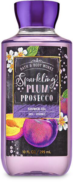 Sparkling Plum Prosecco Shower Gel