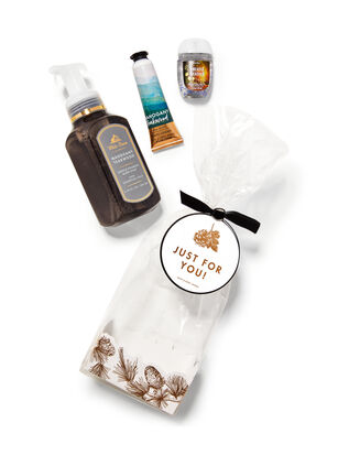 Mahogany Teakwood Gift Set