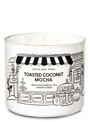 Toasted Coconut Mocha 3-Wick Candle