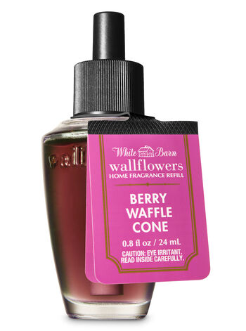 White Barn Berry Waffle Cone Wallflowers Fragrance Refill - Bath And Body Works