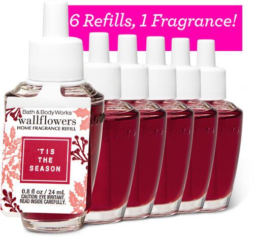 Tis the Season Wallflowers Refills, 6-Pack