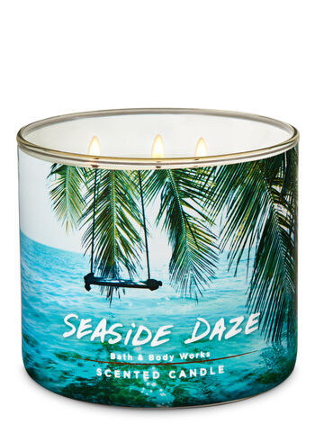 Seaside Daze 3-Wick Candle - Bath And Body Works
