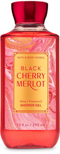 Black Cherry Merlot Shower Gel
