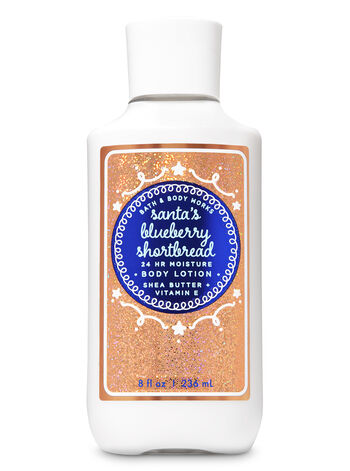 Santa's Blueberry Shortbread Super Smooth Body Lotion - Bath And Body Works